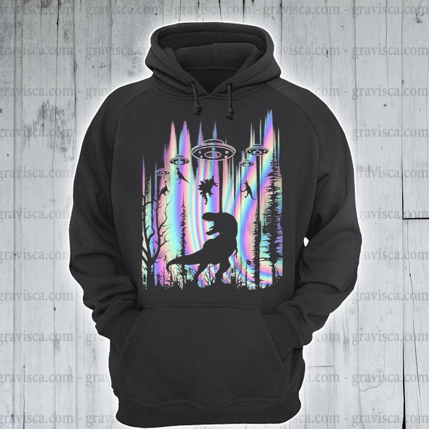 Dinosaurs ufo 2021 s hoodie
