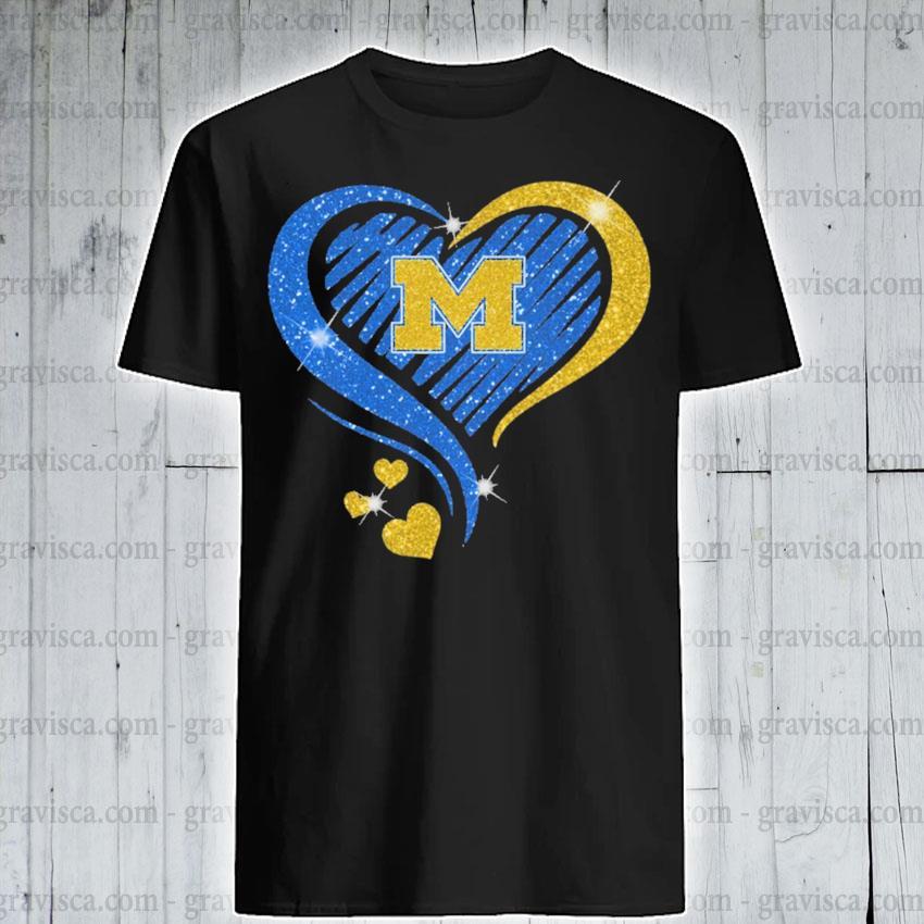 Heart Diamond Michigan football 2021 shirt