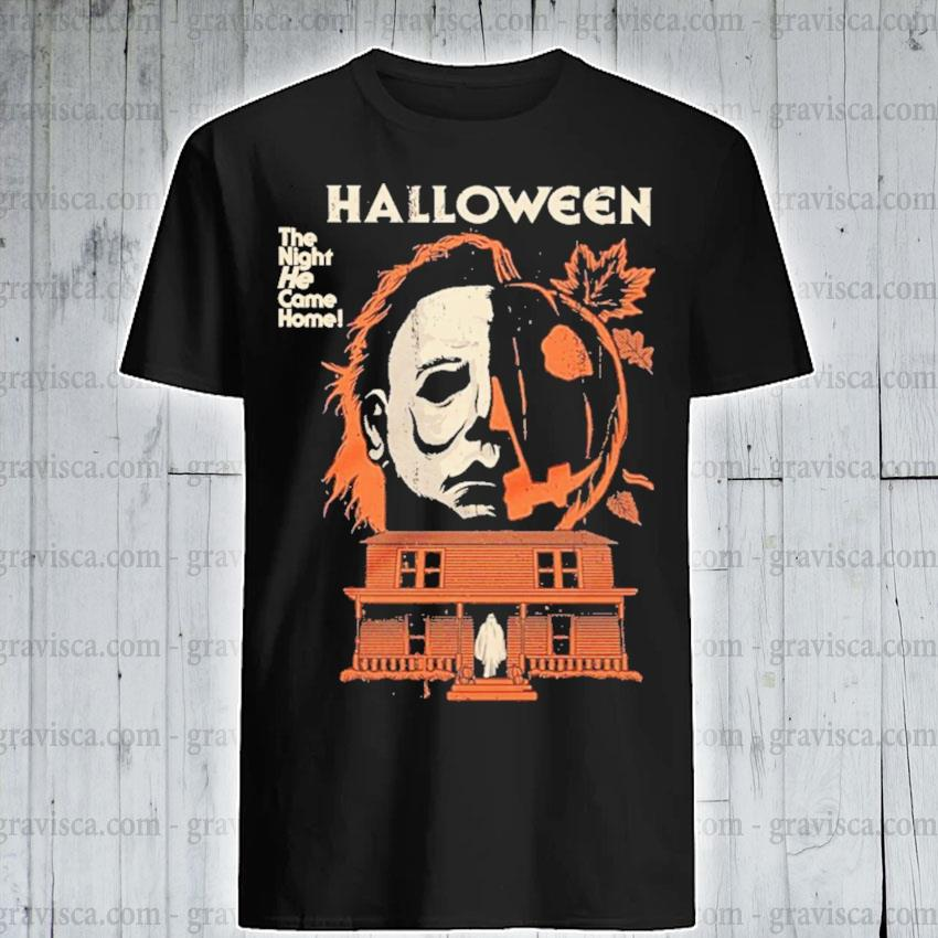 Michael myers pumpkin Halloween the night he came home shirt