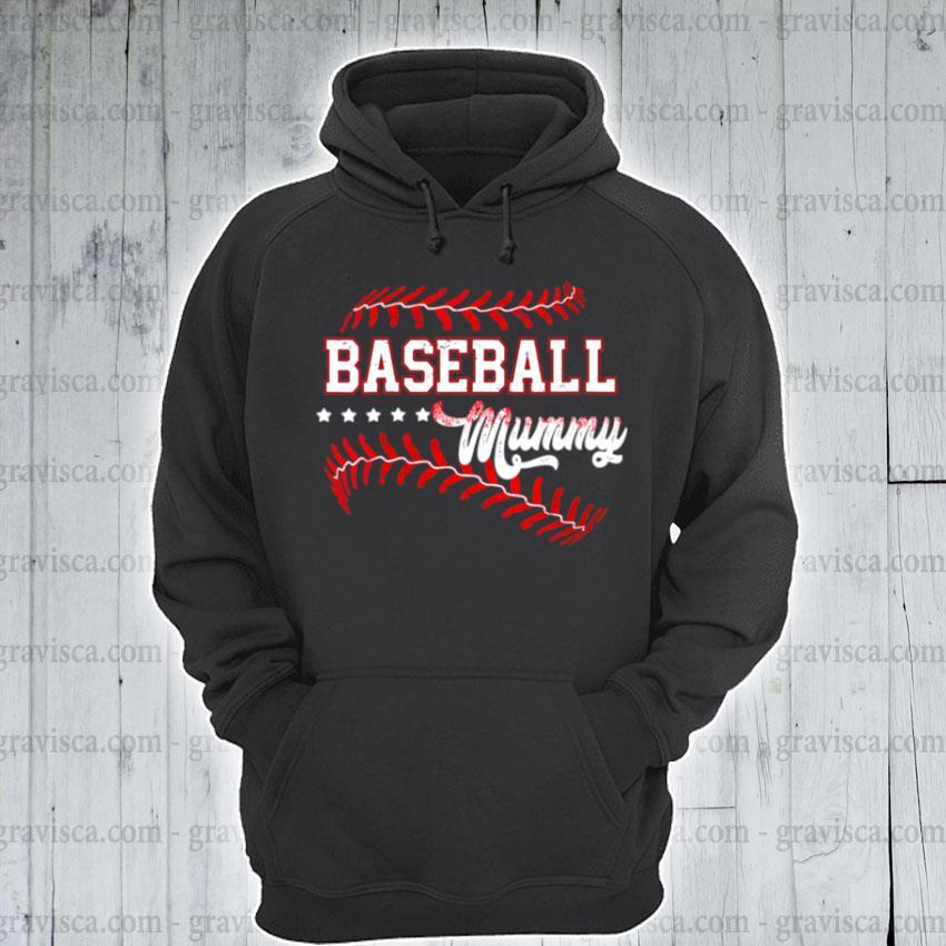 Baseball mummy baseball mummy mothers day s hoodie