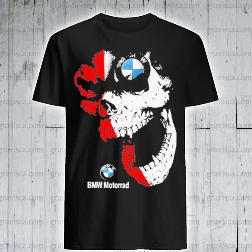 Skull BMW motorrad 2021 shirt