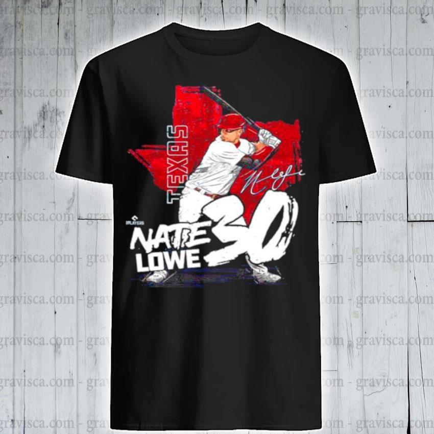Texas baseball nate lowe nate lowe signature shirt