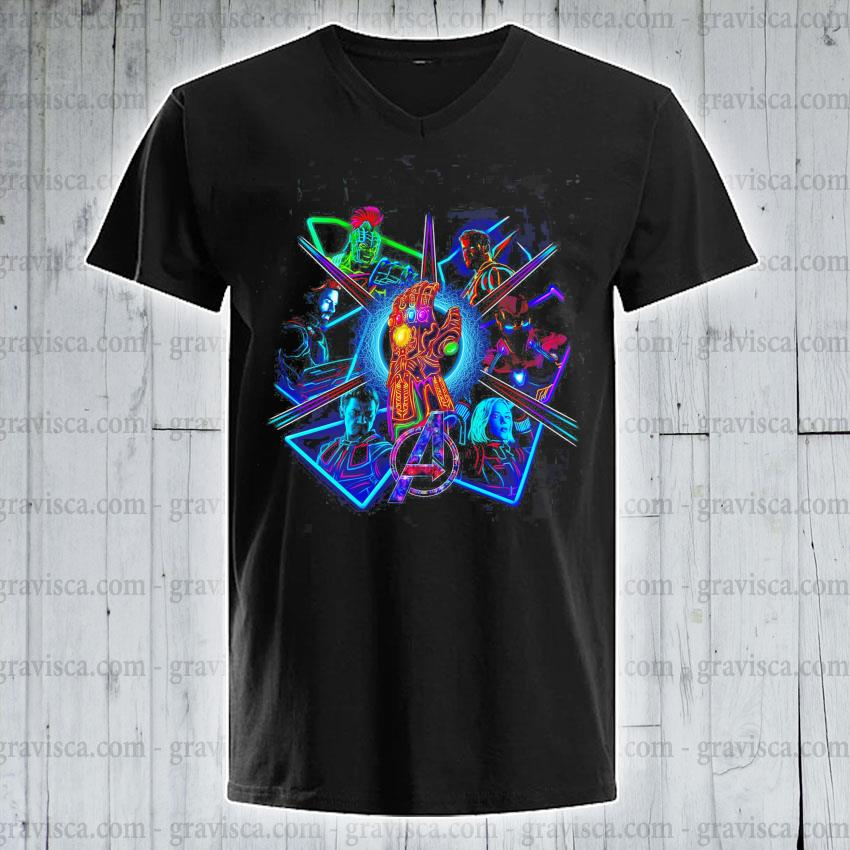 The Marvel Galaxy character 2021 v-neck-tee