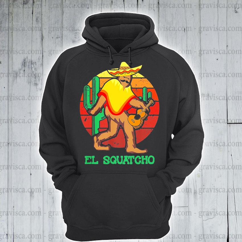 El Squatcho 2 sunset s hoodie