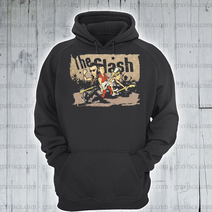 The Clash Band Cartoon s hoodie