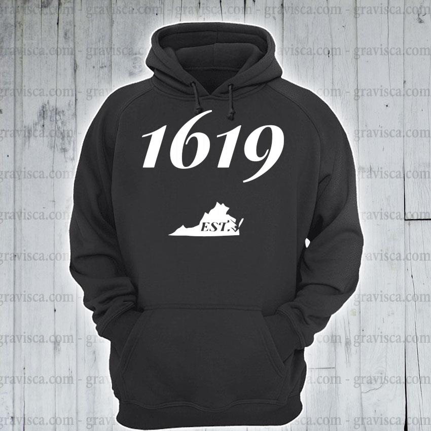 1619 established virginia african american history pullover s hoodie
