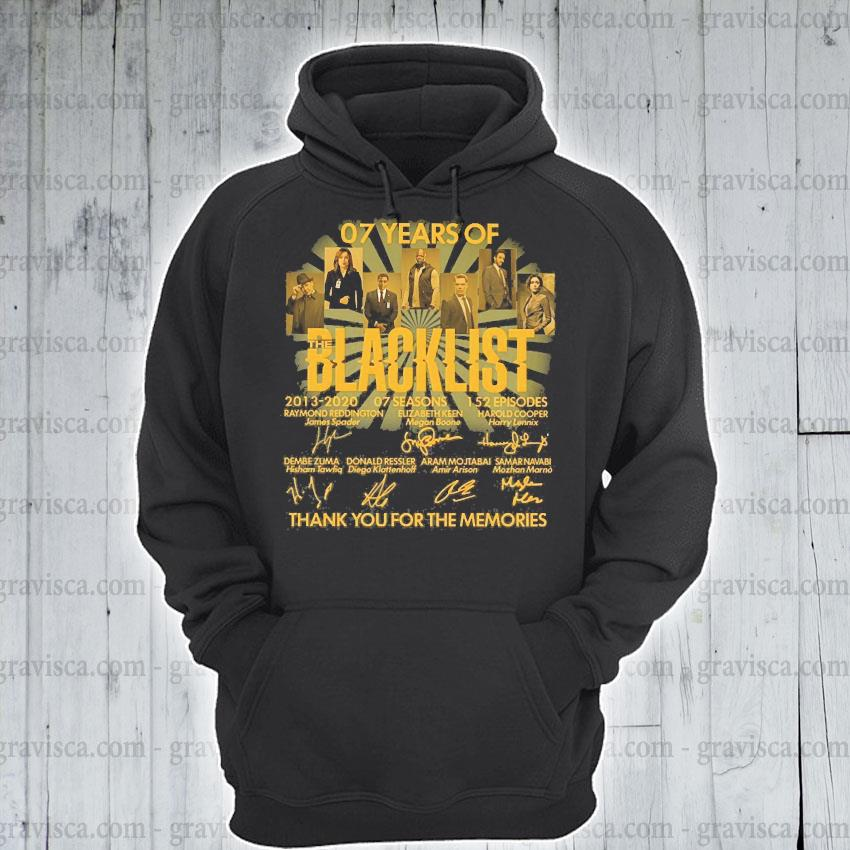 07 years of blacklist than you for the memories s hoodie