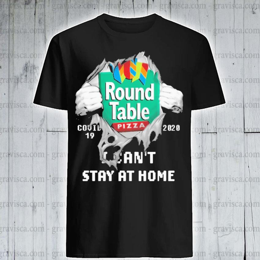 Blood Inside Me Round Table Pizza Covid 19 2020 I Can T Stay At Home Shirt Hoodie Sweater Long Sleeve And Tank Top