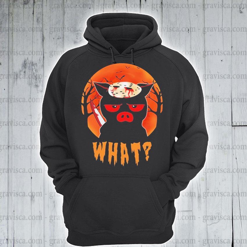Jason Voorhees Pig what Halloween s hoodie