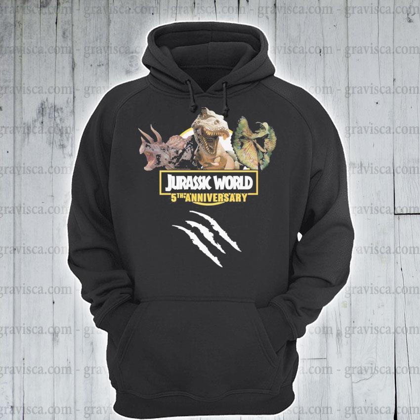 Jurassic World 5th anniversary s hoodie