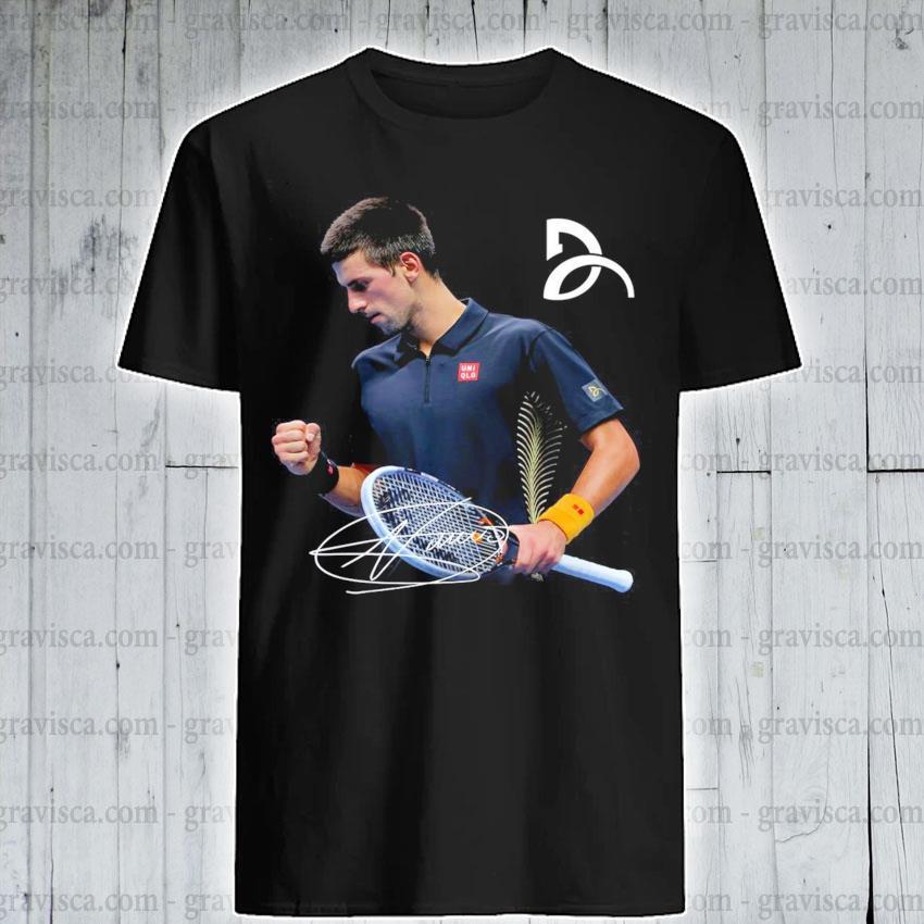 Novak Djokovic Signature Shirt Hoodie Sweater Long Sleeve And Tank Top