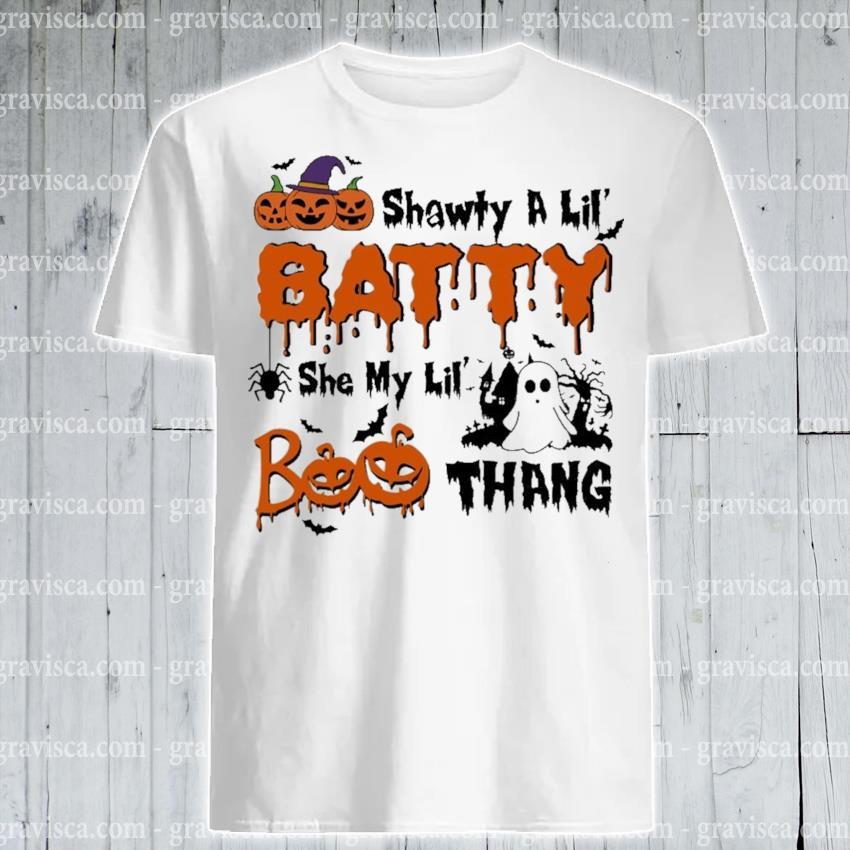 Shawty a lil baddie she my lil Boo thang Halloween shirt