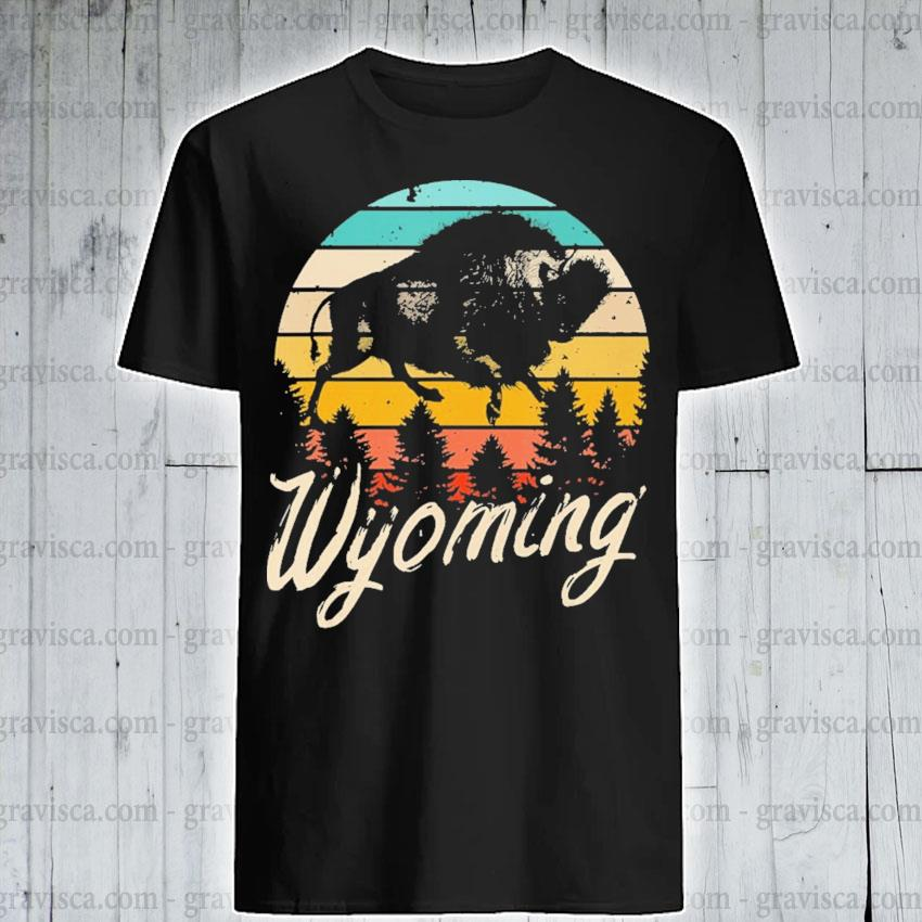 Wyoming vintage shirt