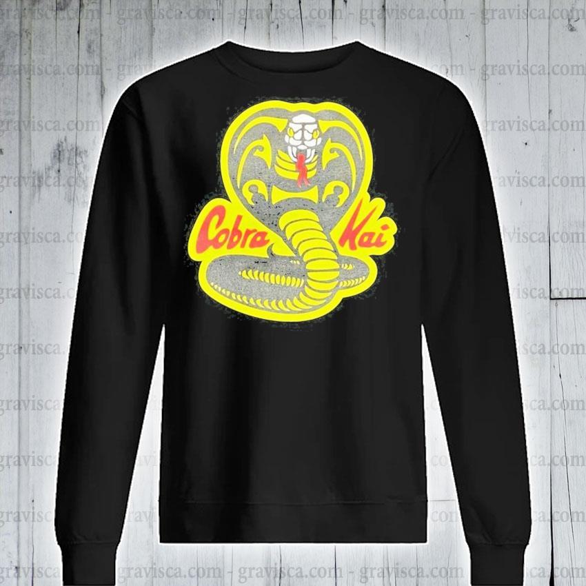 Funny Cobra Kai s sweatshirt