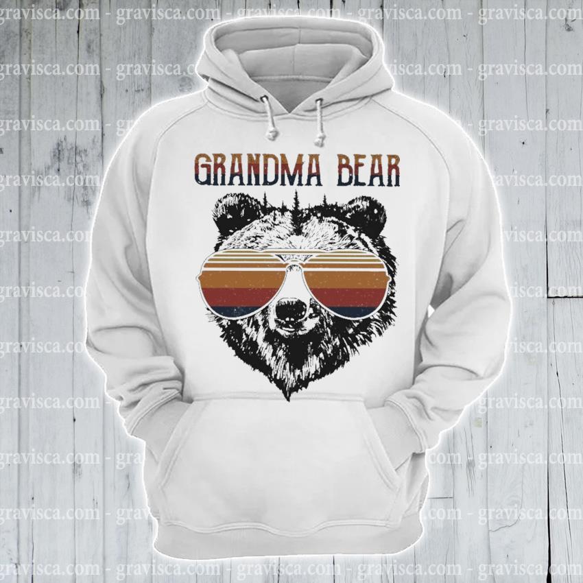 Grandma Bear vintage s hoodie