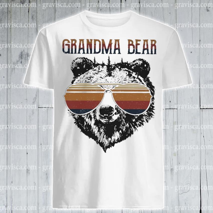 Grandma Bear vintage shirt