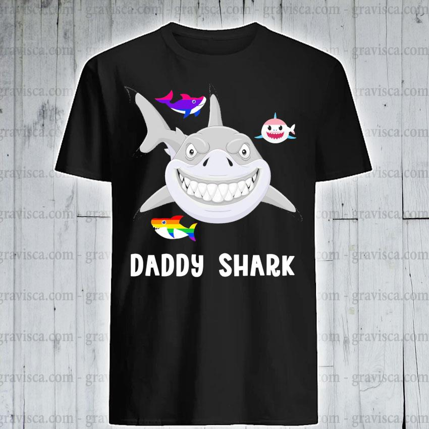 LGBT daddy Shark shirt