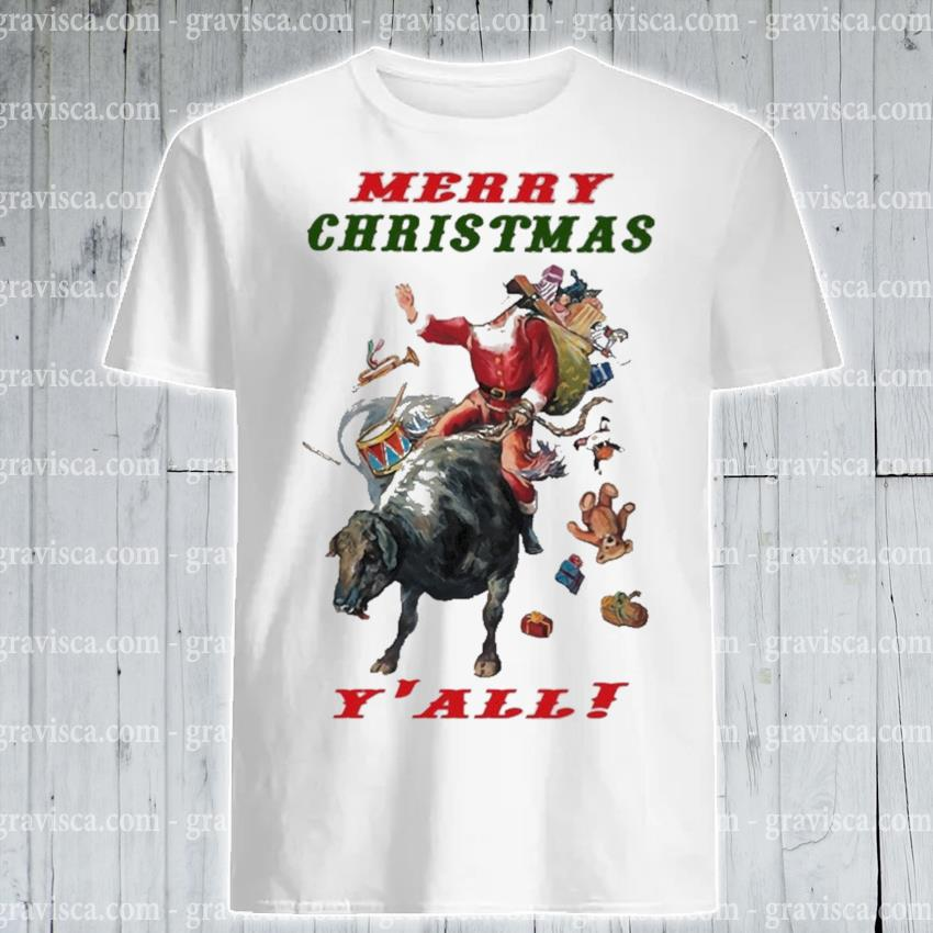 Official Merry Christmas Y'all shirt