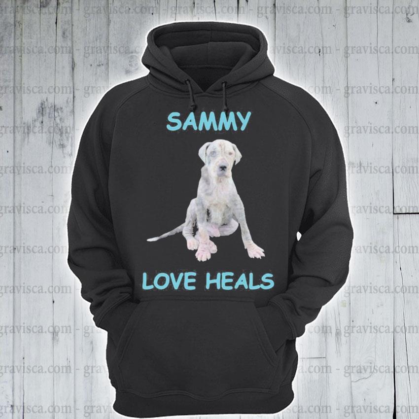 Official Sammy love Heals s hoodie