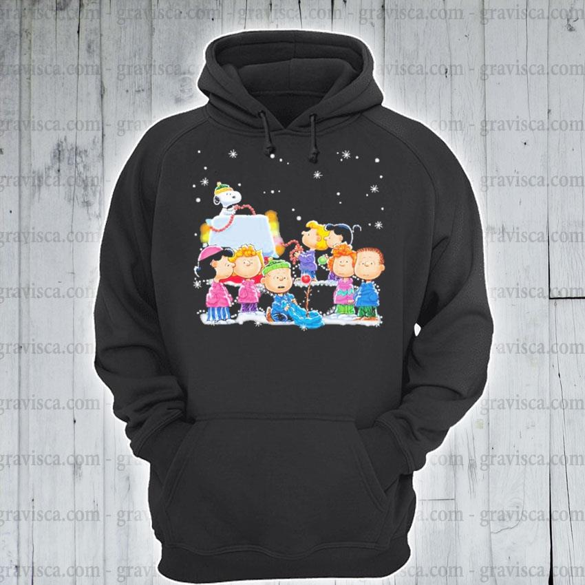 Official Snoopy and Friends happy Christmas s hoodie