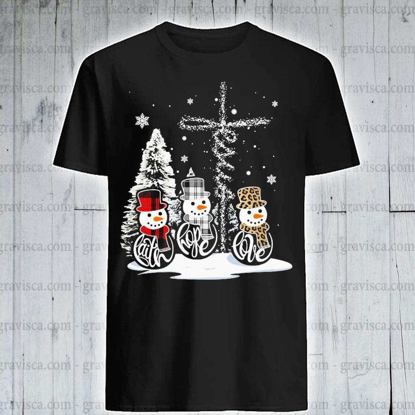 Snowmans Christmas shirt