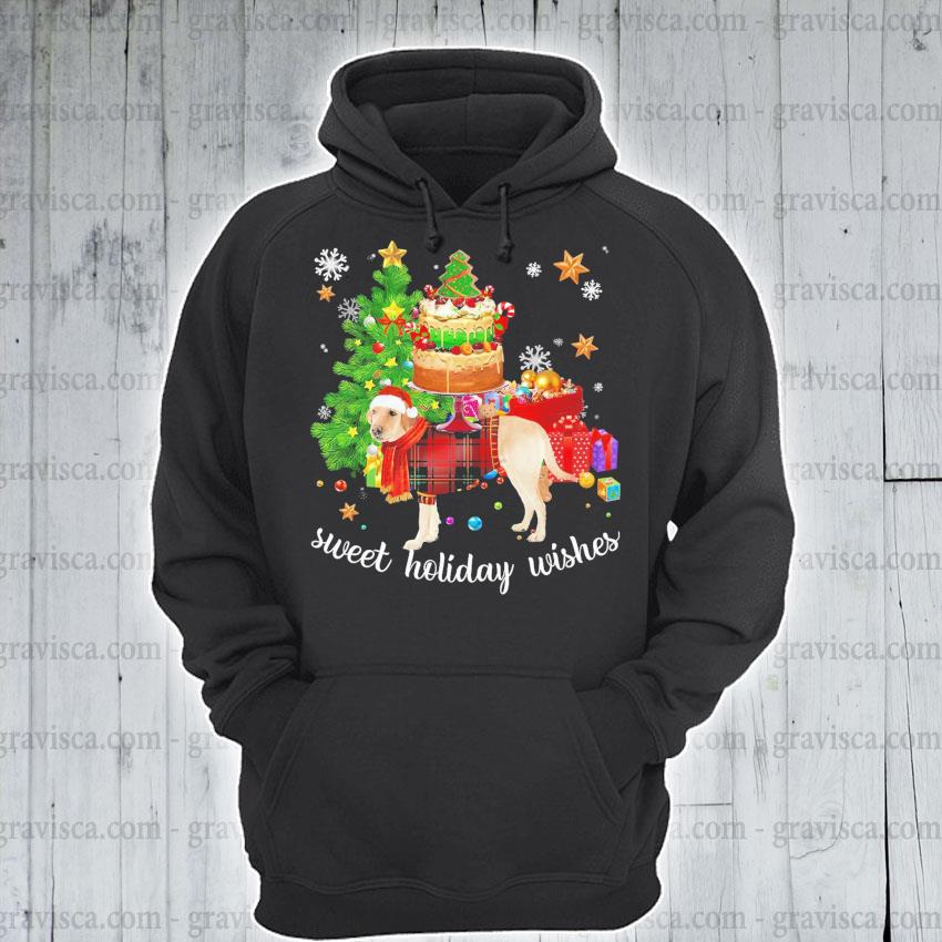 Golden Santa sweet holiday wishes Christmas 2020 s hoodie
