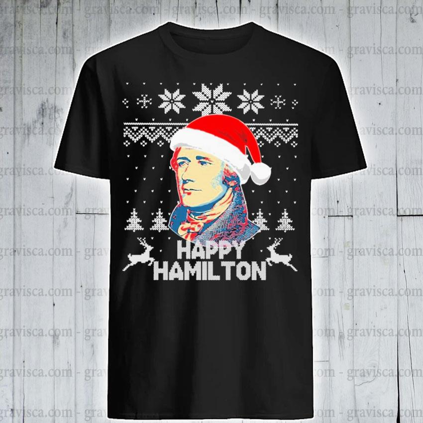Happy Hamilton ugly Christmas 2020 sweatshirt