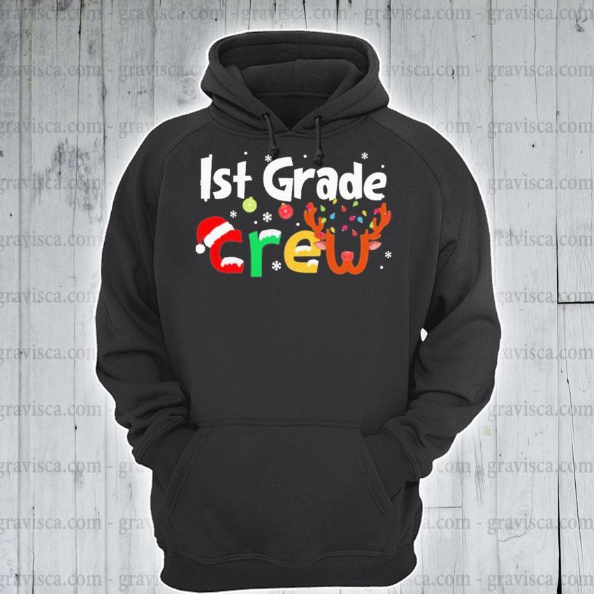 Ist Grade Crew merry Christmas 2020 s hoodie