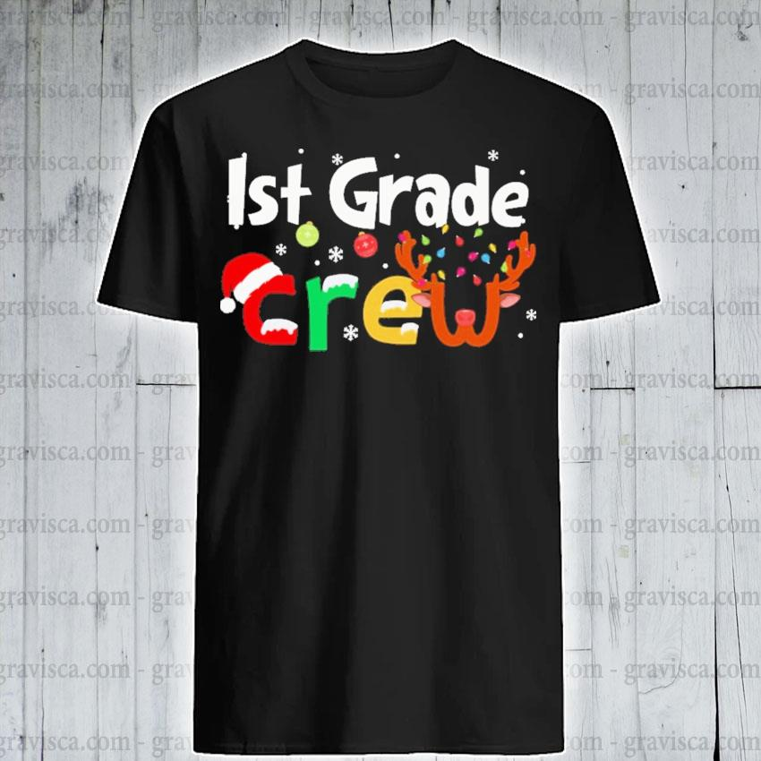 Ist Grade Crew merry Christmas 2020 shirt