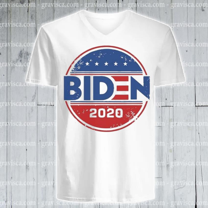 Joe biden 2020 presidential election democrat vintage s v-neck-tee
