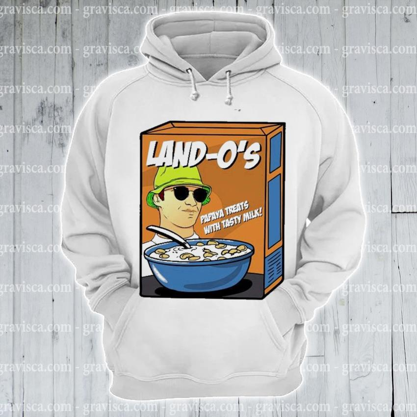 Lando norris papava treats with tasty milk cereal essential s hoodie