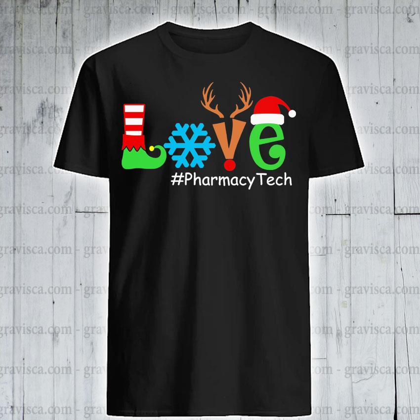 Love #Pharmacy tech Merry Christmas 2020 shirt