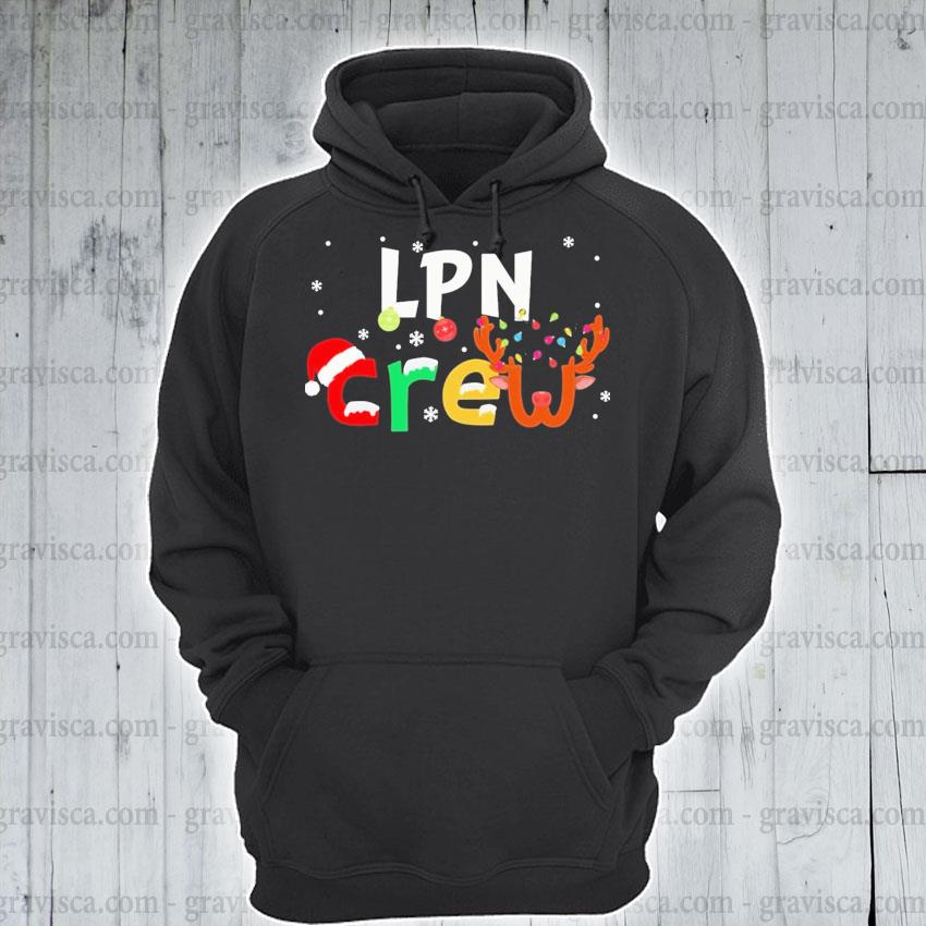 LPN Crew happy Merry Christmas 2020 s hoodie