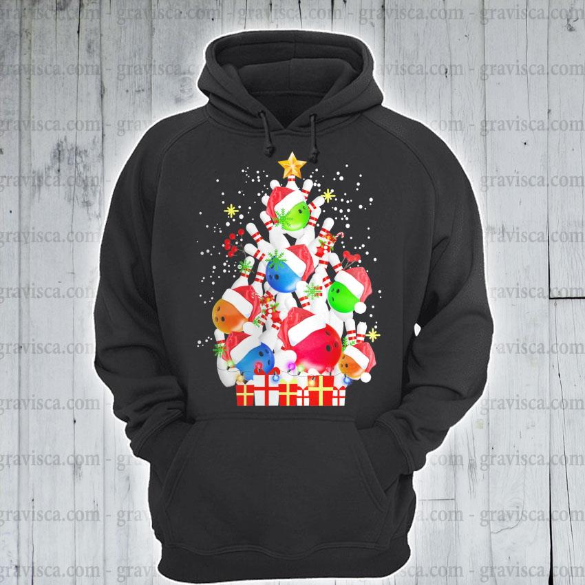 Tree Pine Bolling Santa happy Merry Christmas 2020 s hoodie
