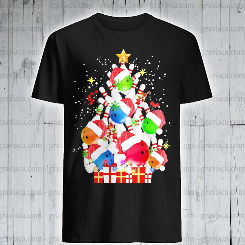 Tree Pine Bolling Santa happy Merry Christmas 2020 shirt