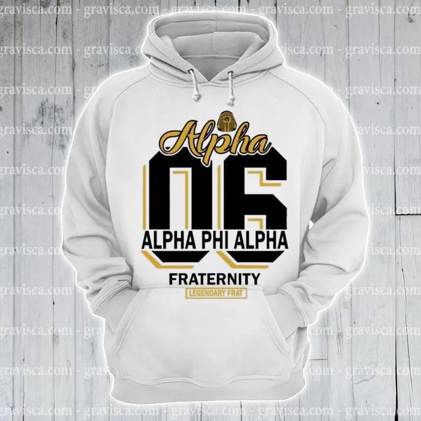 06 Alpha alpha phi alpha fraternity s hoodie