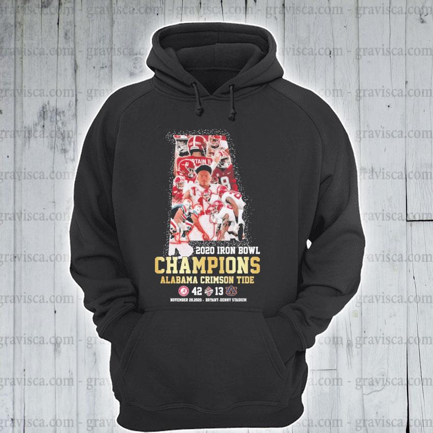 2020 Iron Bowl Champions Alabama Crimson tide s hoodie