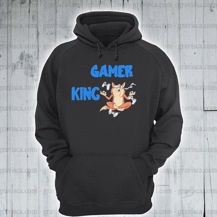 Gamer king console gaming pc computer video games s hoodie