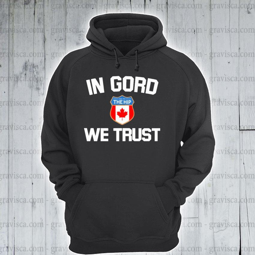 In GORD we trust with emble s hoodie