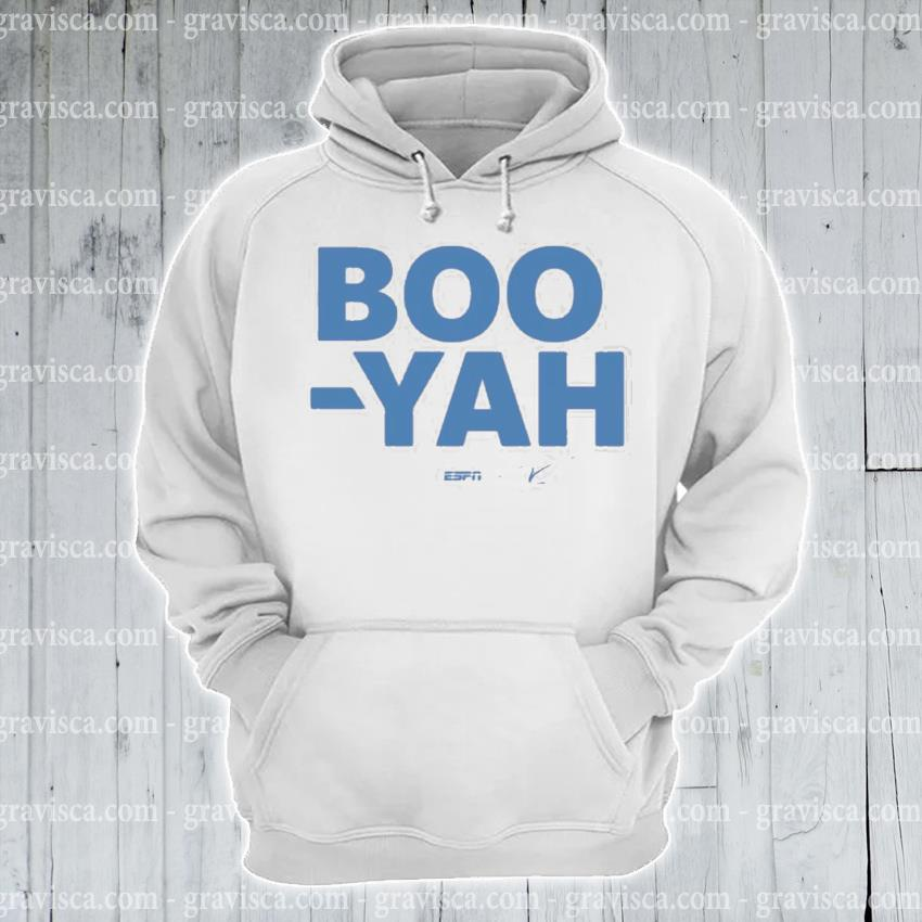Stuart scott boo yah espn threadless merch s hoodie