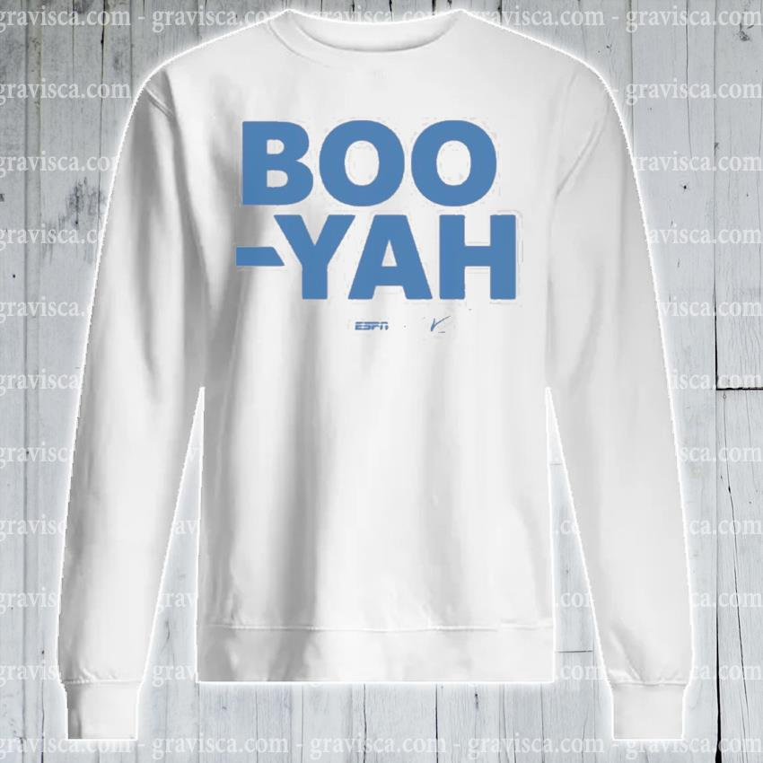 Stuart scott boo yah espn threadless merch s sweatshirt