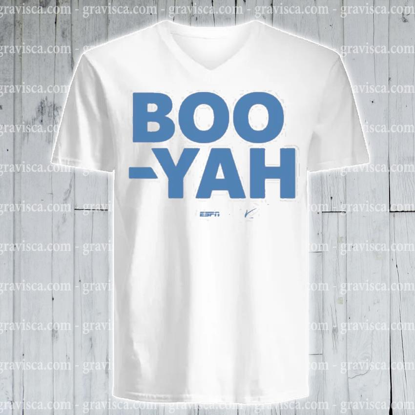 Stuart scott boo yah espn threadless merch s v-neck-tee