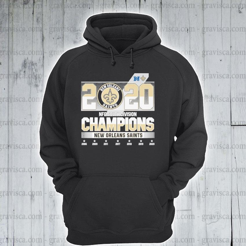 2020 AFC south division Champions New Orleans Saints s hoodie