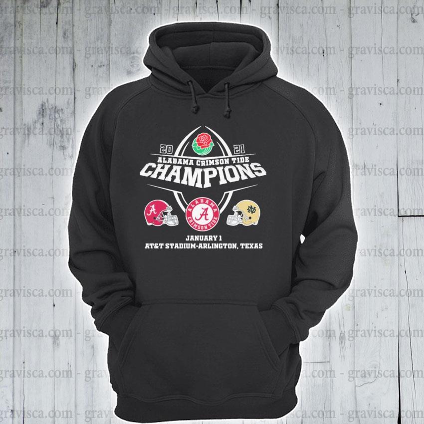 2021 Alabama Crimson Tide Champions January 1 AT&T stadium arlington Texas s hoodie