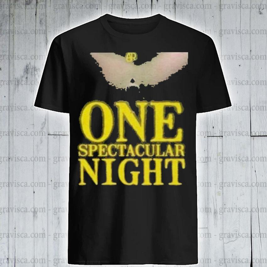Ajr one spectacular night shirt