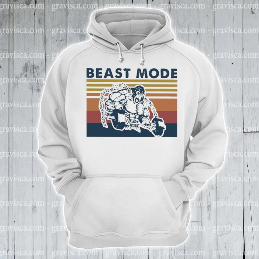 Bigfoot beast mode vintage s hoodie