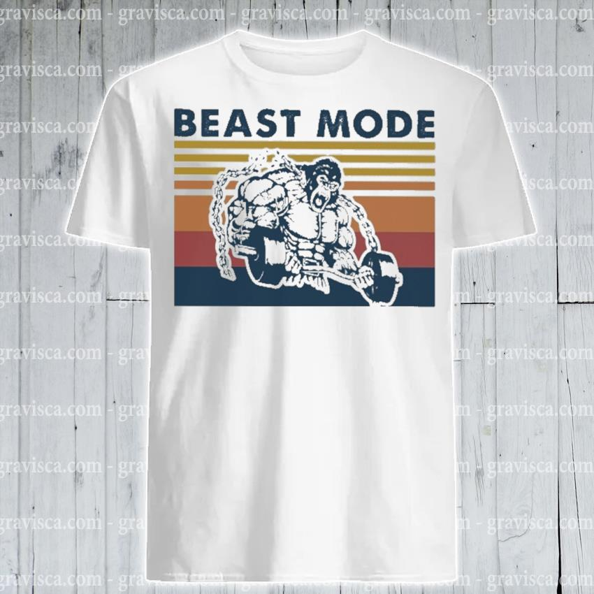 Bigfoot beast mode vintage shirt
