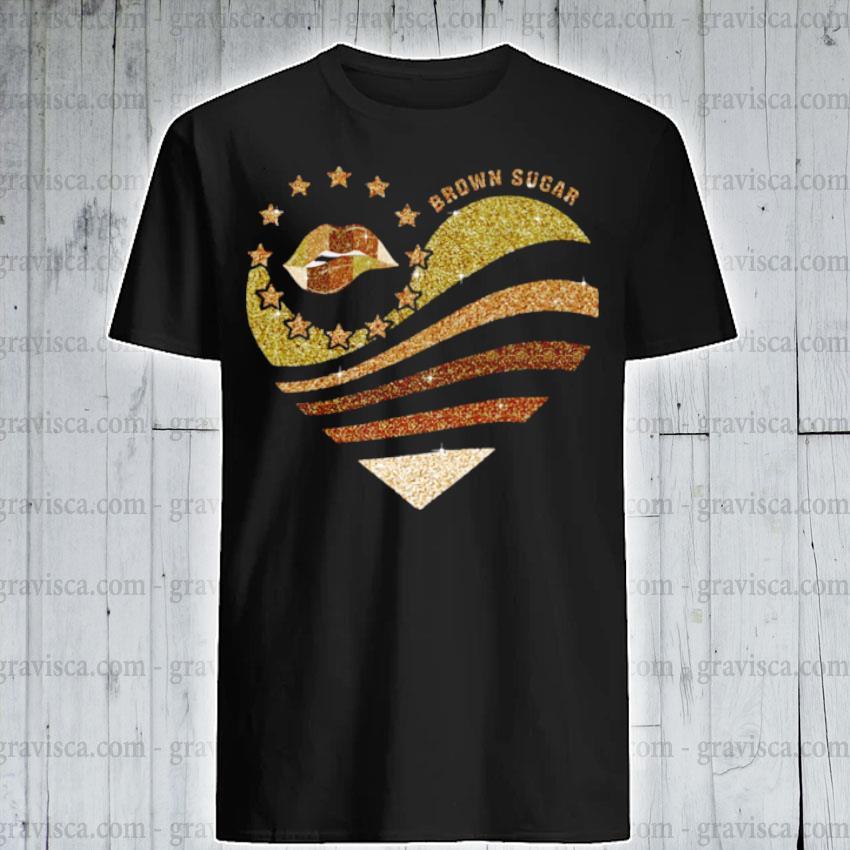 Brown Sugar Diamond shirt