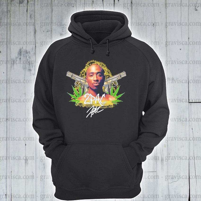 Cannabis 2Pac signature s hoodie