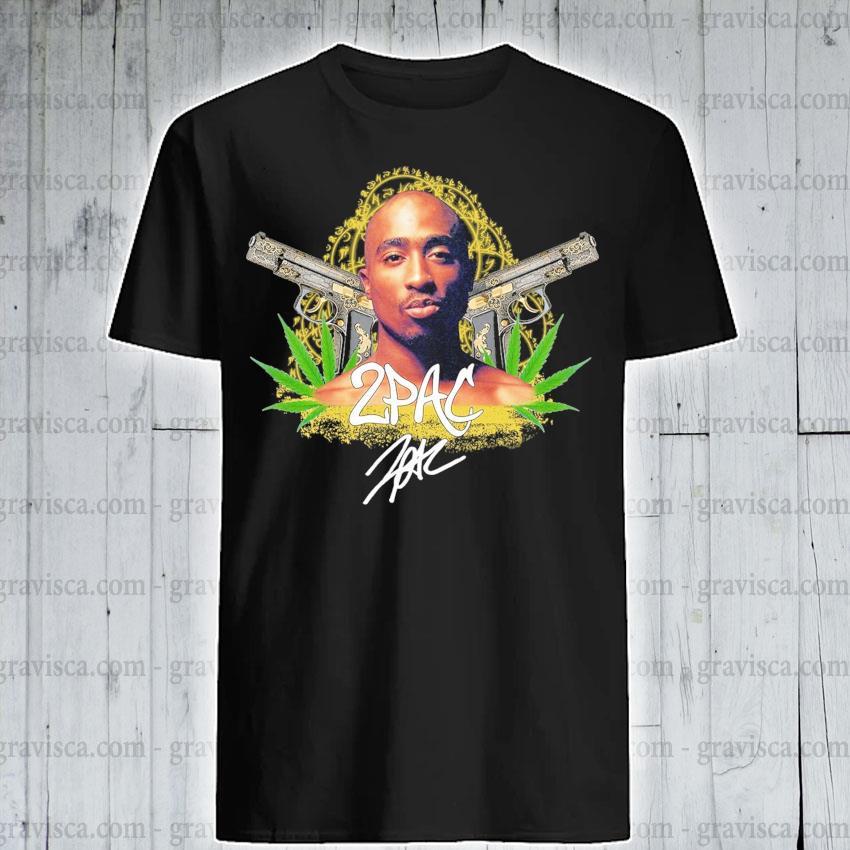 Cannabis 2Pac signature shirt